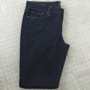 Handcrafted Lucky Brand Blue Skinny Jeans